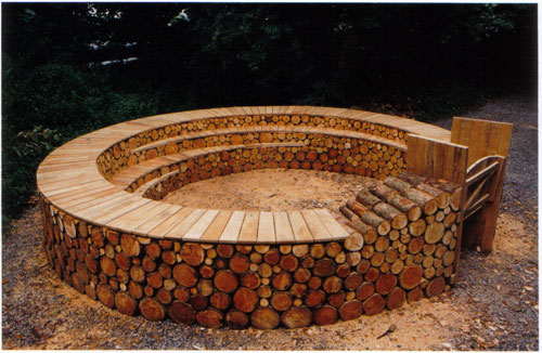 Large Outdoor Study Area Earth Wrights